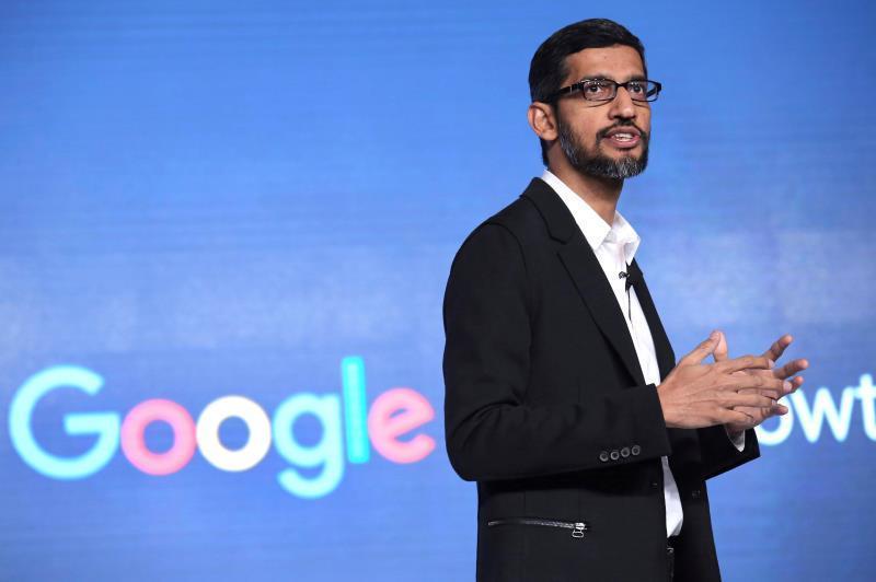 En la imagen, el consejero delegado de Alphabet y Google, Sundar Pichai. EFE/Rajat Gupta/Archivo