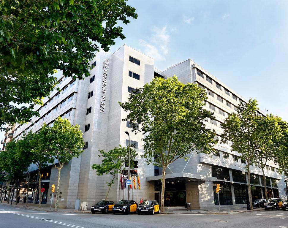 El hotel Crowne Plaza Barcelona