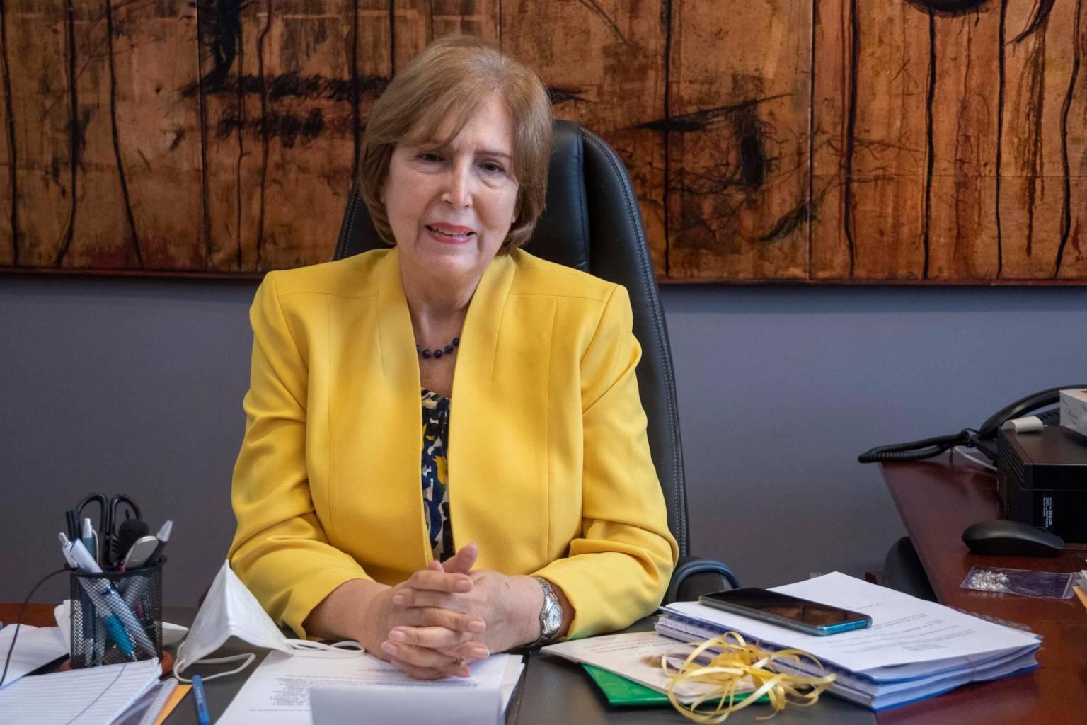 Carmen Heredia, ministra de Cultura.