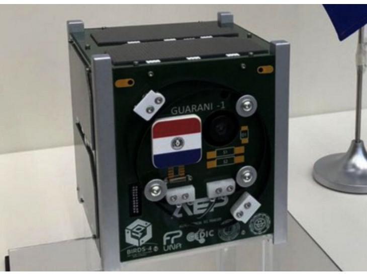 Al espacio. Guaraní-Sat1, primer satélite paraguayo.