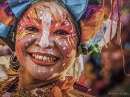"""Algunas de las imágenes del carnaval que serán expuestas desde este jueves en la muestra """"Por los caminos del carnaval en tiempo de pandemia"""" , en el Centro Cultural Banreservas."""