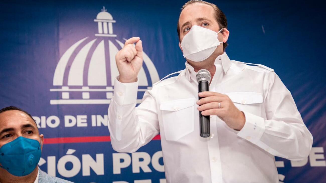 Ministro Administrativo de la Presidencia, José Ignacio Paliza