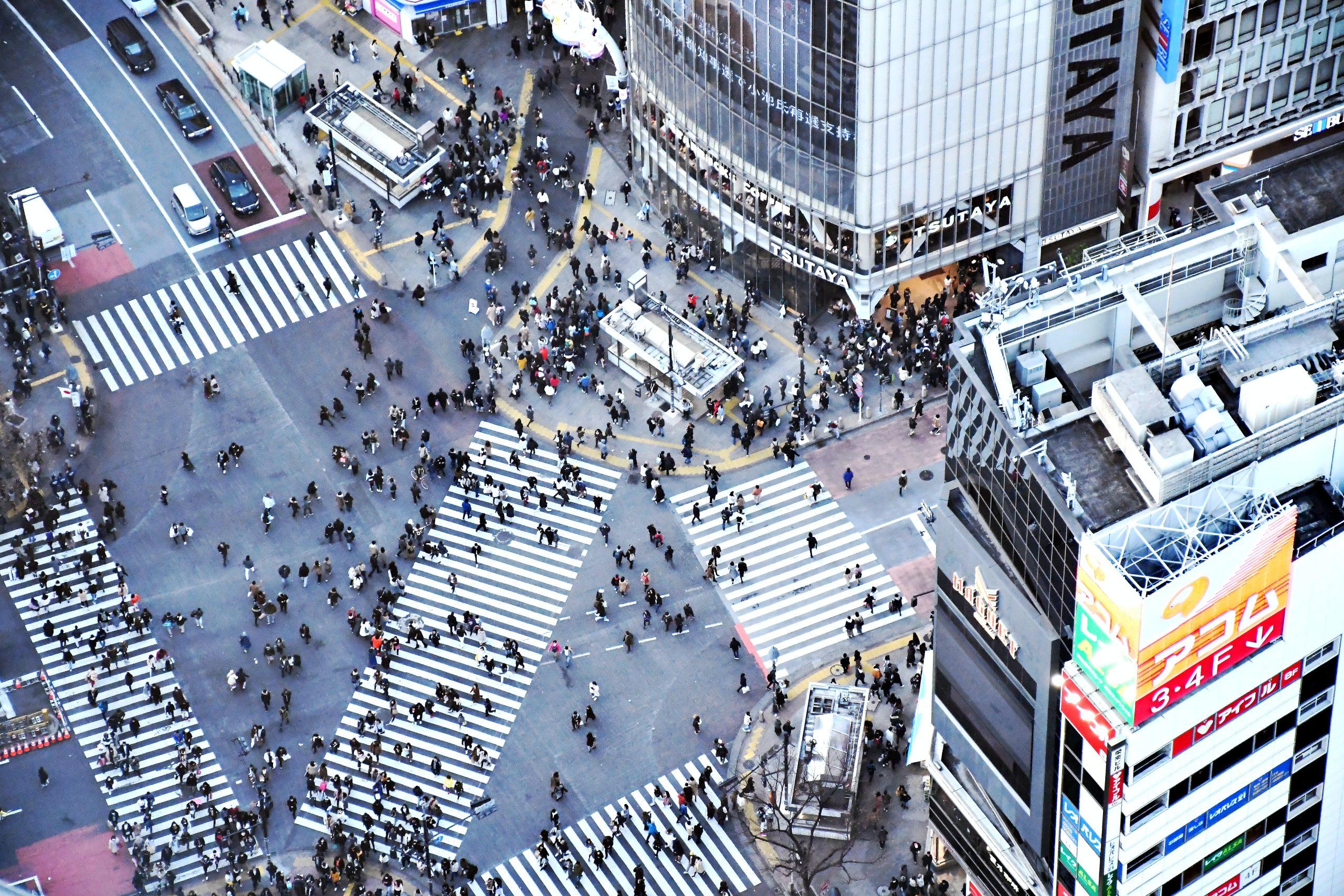 Shibuya Crossing 3 by Holidu