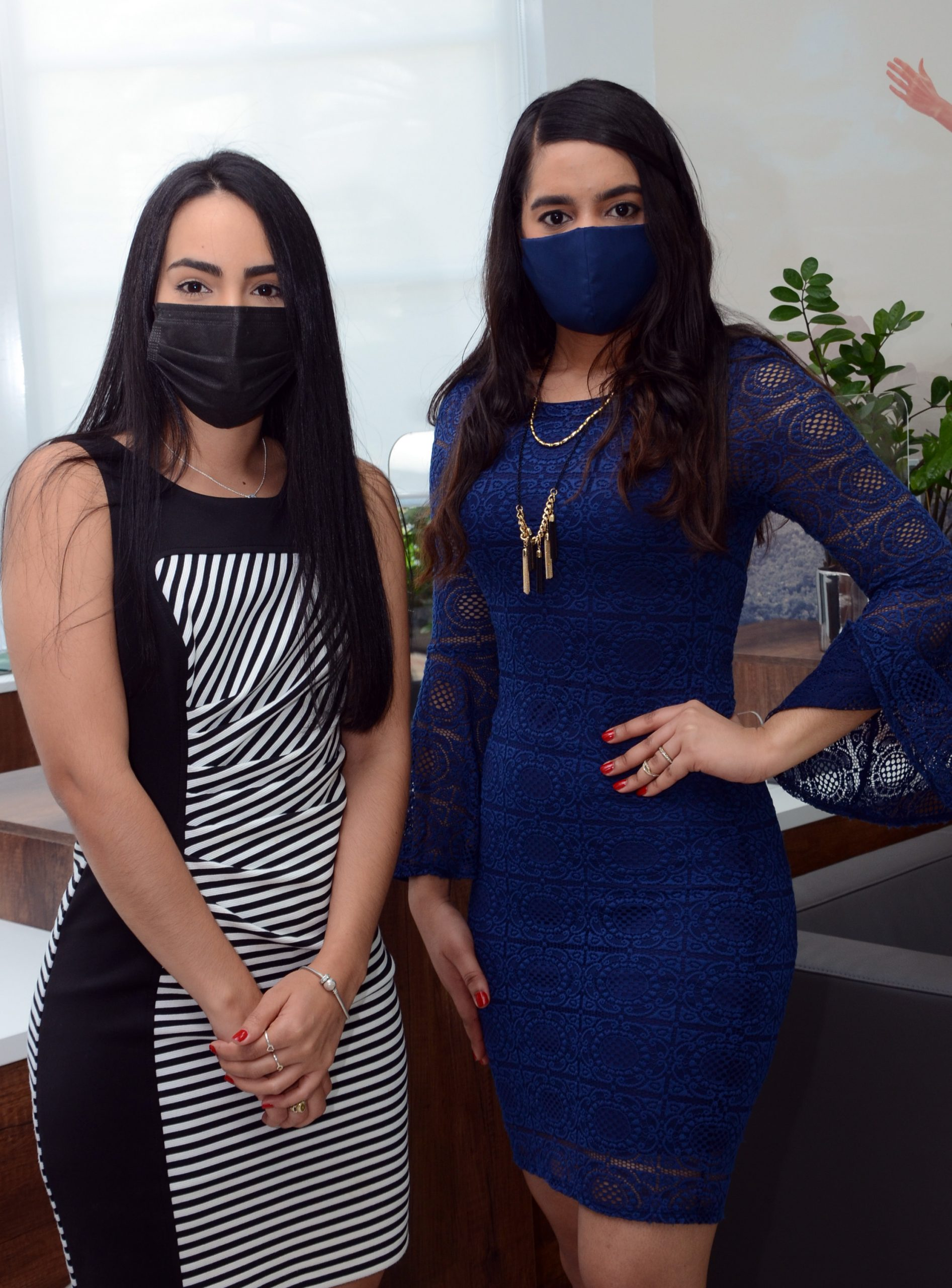 Ysamar Fermin y Laura Grateraux