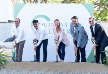 Primer Palazo Quintas Palmera César Collado, Edwin Marmolejos, Anice Prieto, Raúl Rosario y Santiago Camarena