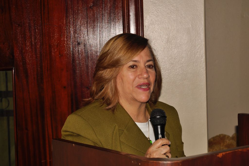 Directora Regional 08 de Educación, Magister Marieta Díaz