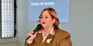 Marieta Díaz, directora Regional de Educación.