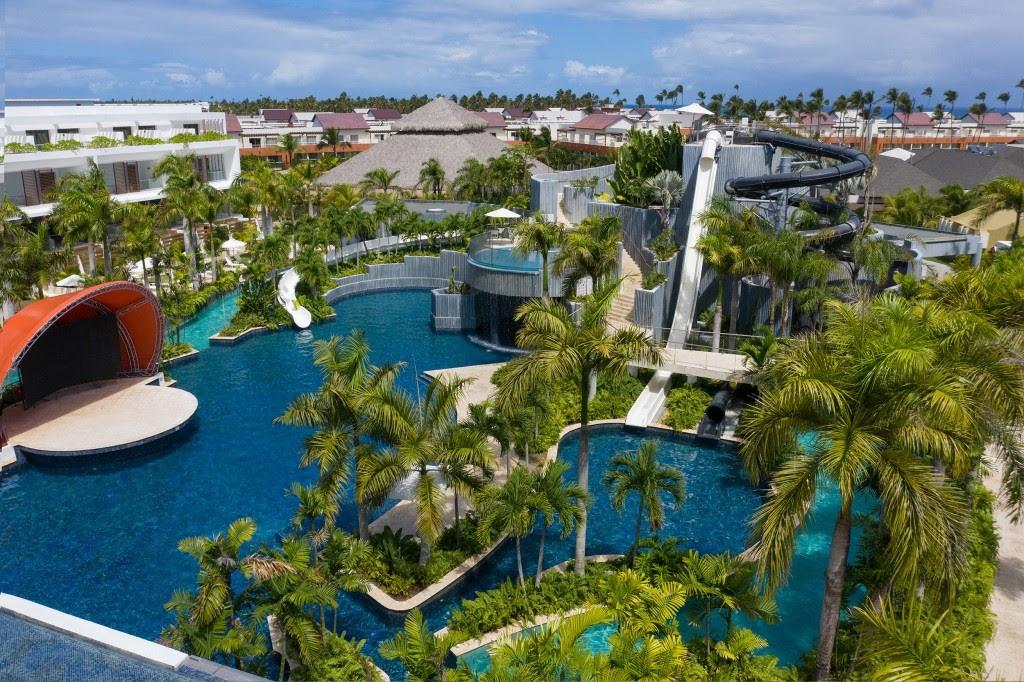 El parque acuático Jungle en Dreams Onyx Resort & Spa