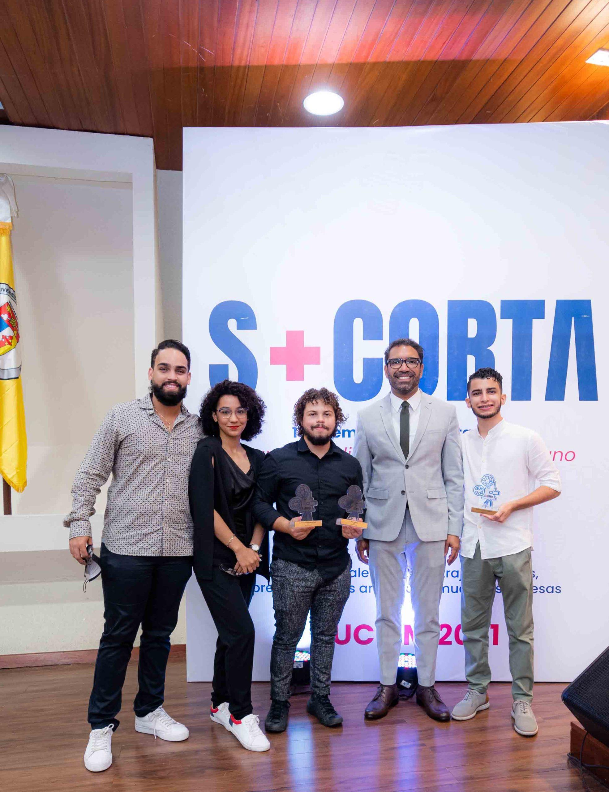 Manuel Moronta, Arlyn Suárez, Braulio Lora, Nelson Jiménez y Elian Abreu