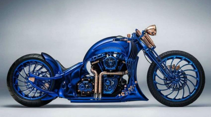 La Harley-Davidson Blue Edition de Bucherer
