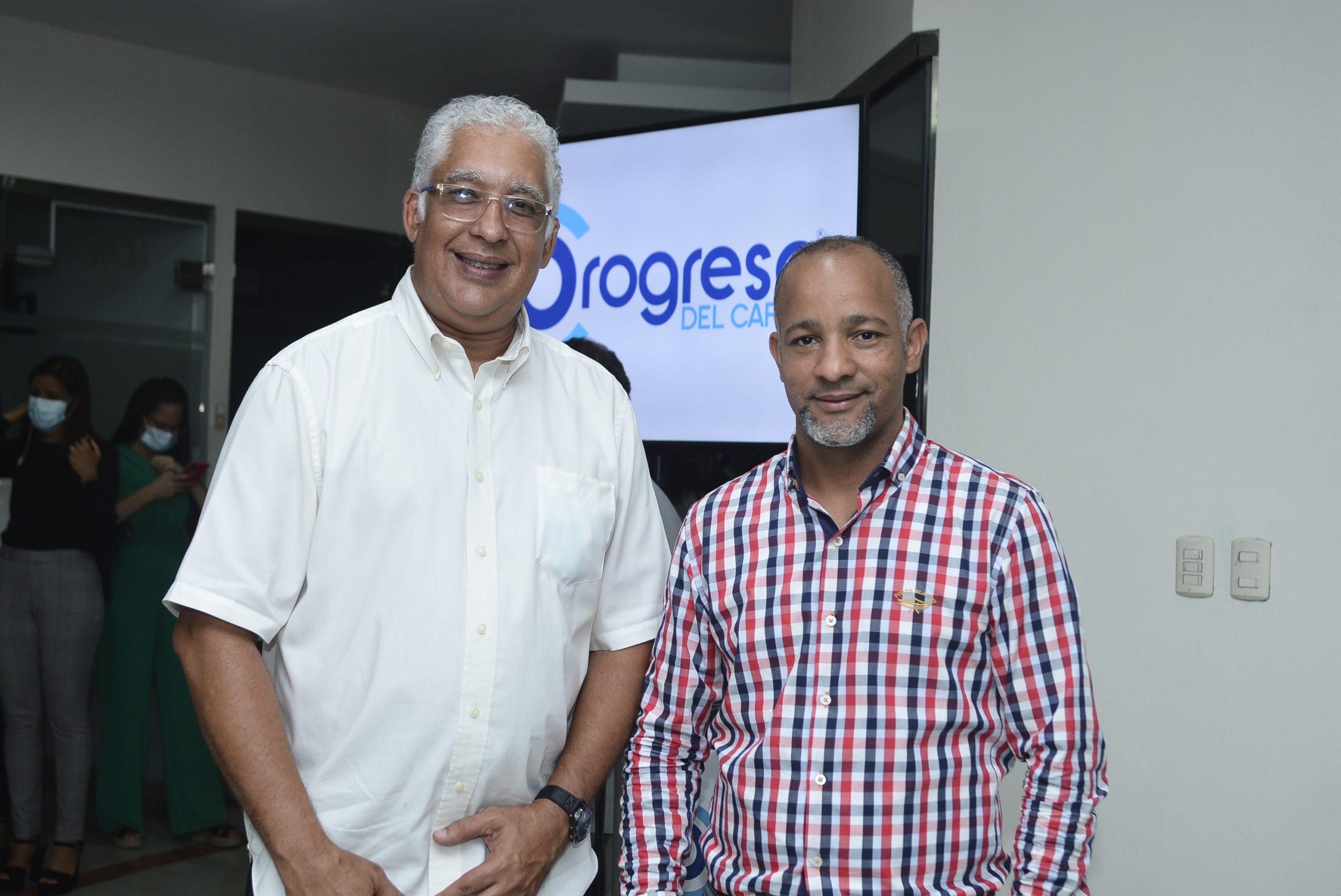 Pedro José Pérez y José Alfredo Espinal
