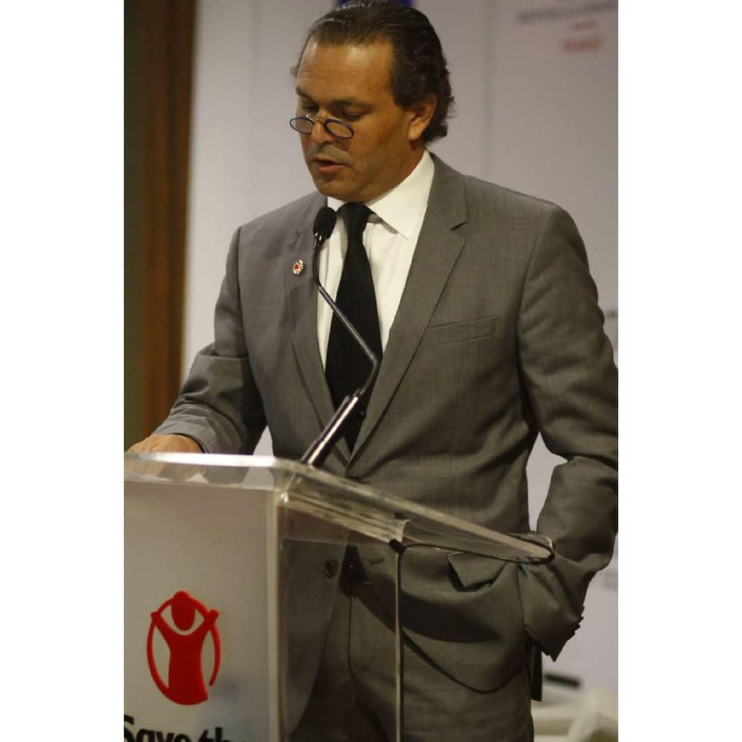 Juan Tomas Díaz Presidente de Save The Children