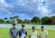 Roberto Herrera, Roberto Andrés Herrera Sosa, Sócrates Cuello y Sebastián Cuello ganadores del torneo