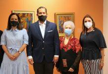 Maribel Bellapart, José Manuel Romero, Myrna Guerrero Villalona y Mariajosé Turull de Roig