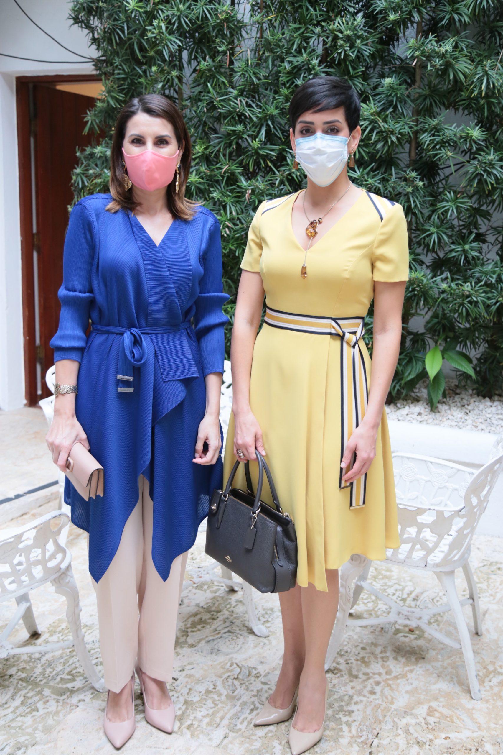 Yolanda Betrian de Romero y Fabel Sandoval