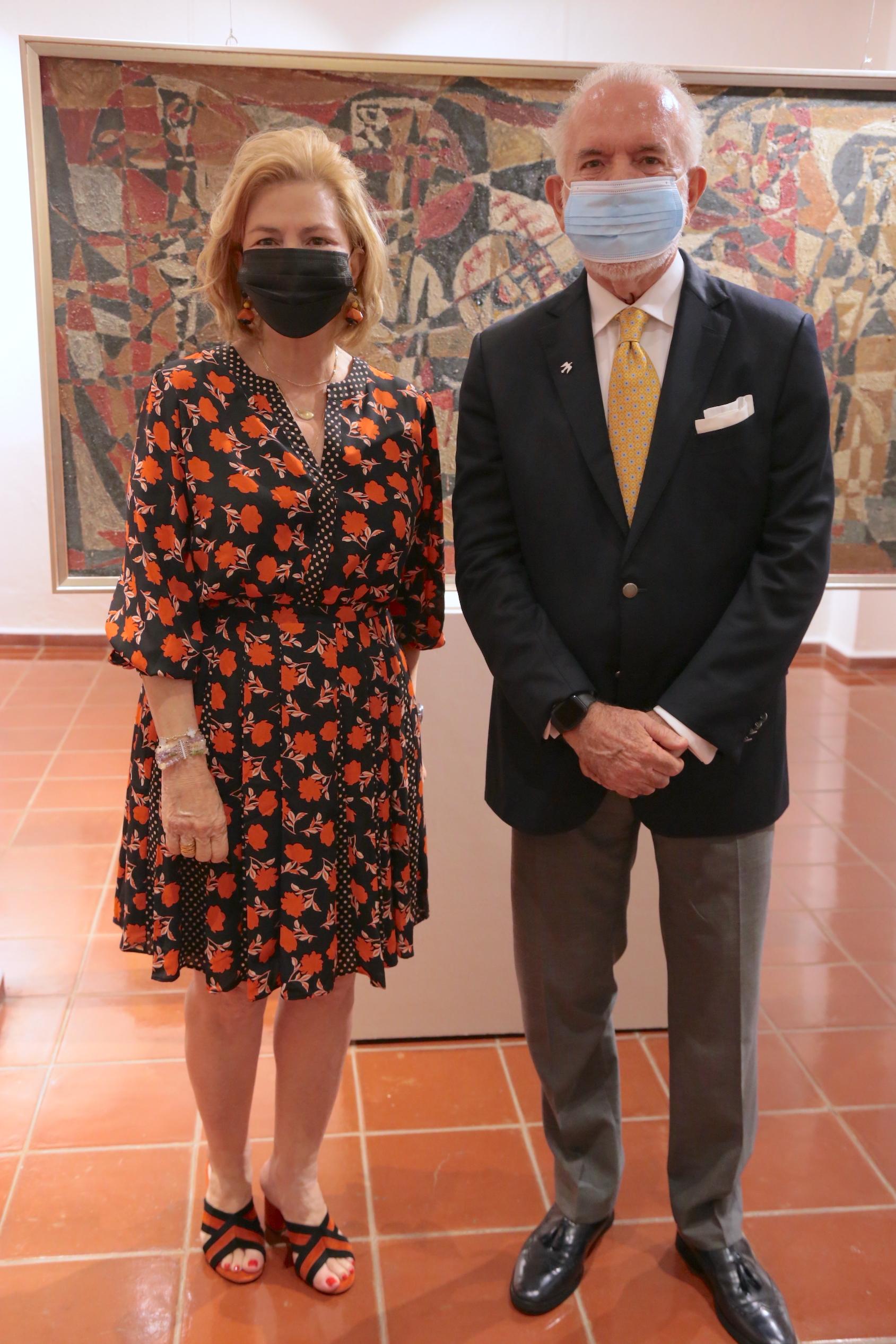 Susana Messina de Caro y Manolo Hazoury