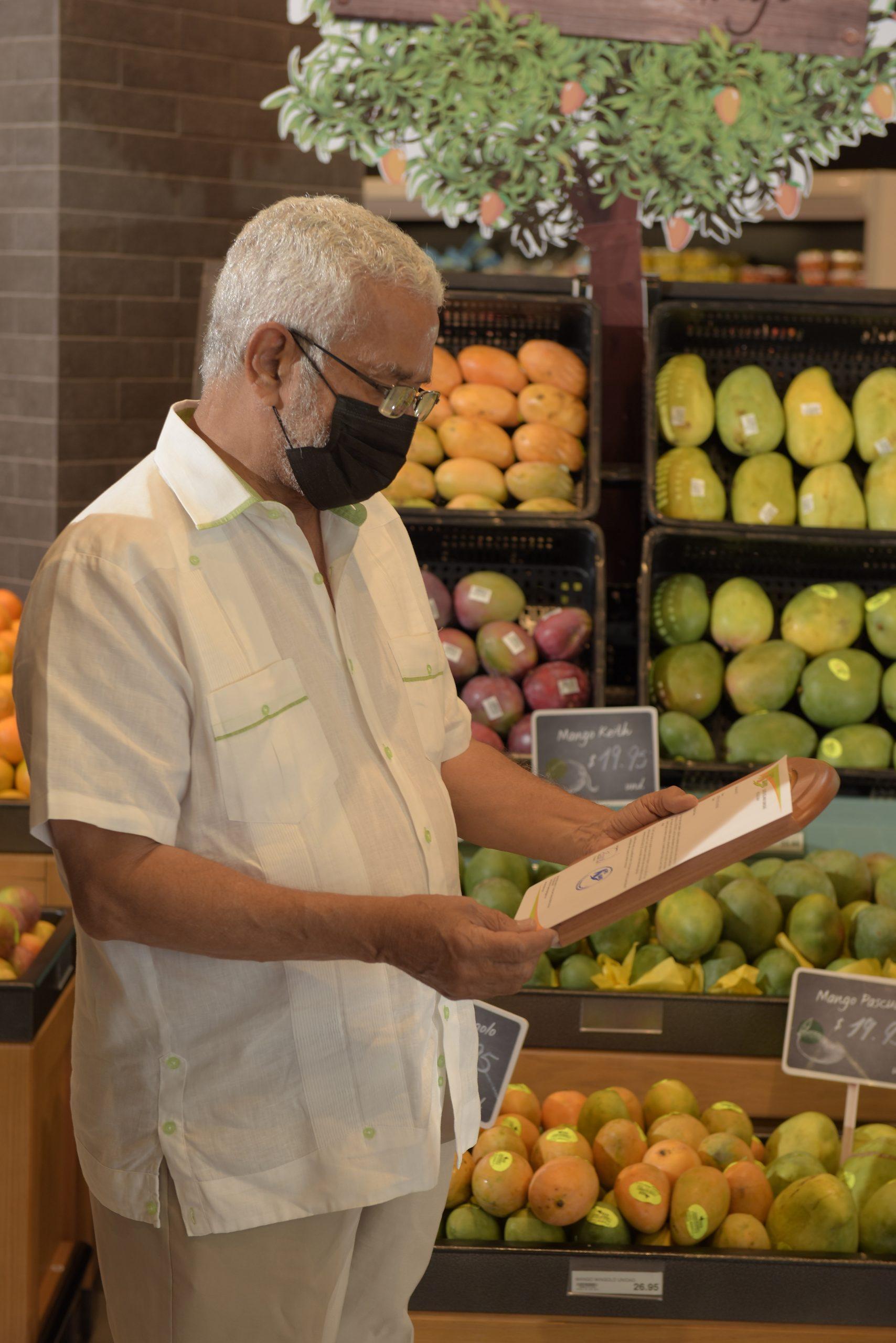 Ingeniero Rafael Leger, Presidente Pro Mango