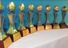 El trofeo del Premio Epifanio Lantigua de Periodismo Turistico.