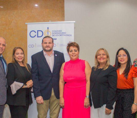 Rimsky Marte, Rita Brito, John Padilla, Virginia Laureano, Mariana Javier, Katherine Reynoso y Ely Jiménez.