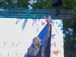 Sarodj durante su presentación en el Carnaval de Miami
