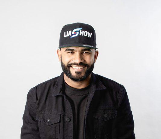 """El locutor Luis Miguel Arias, conocido como """"Luis Show""""."""