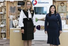 Michelle Cohen, Embajadora Dominicana en Canadá junto a Biviana Riveiro Directora Ejecutiva de Prodominicana